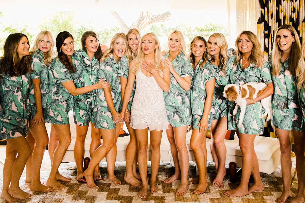 bridesmaids pjs