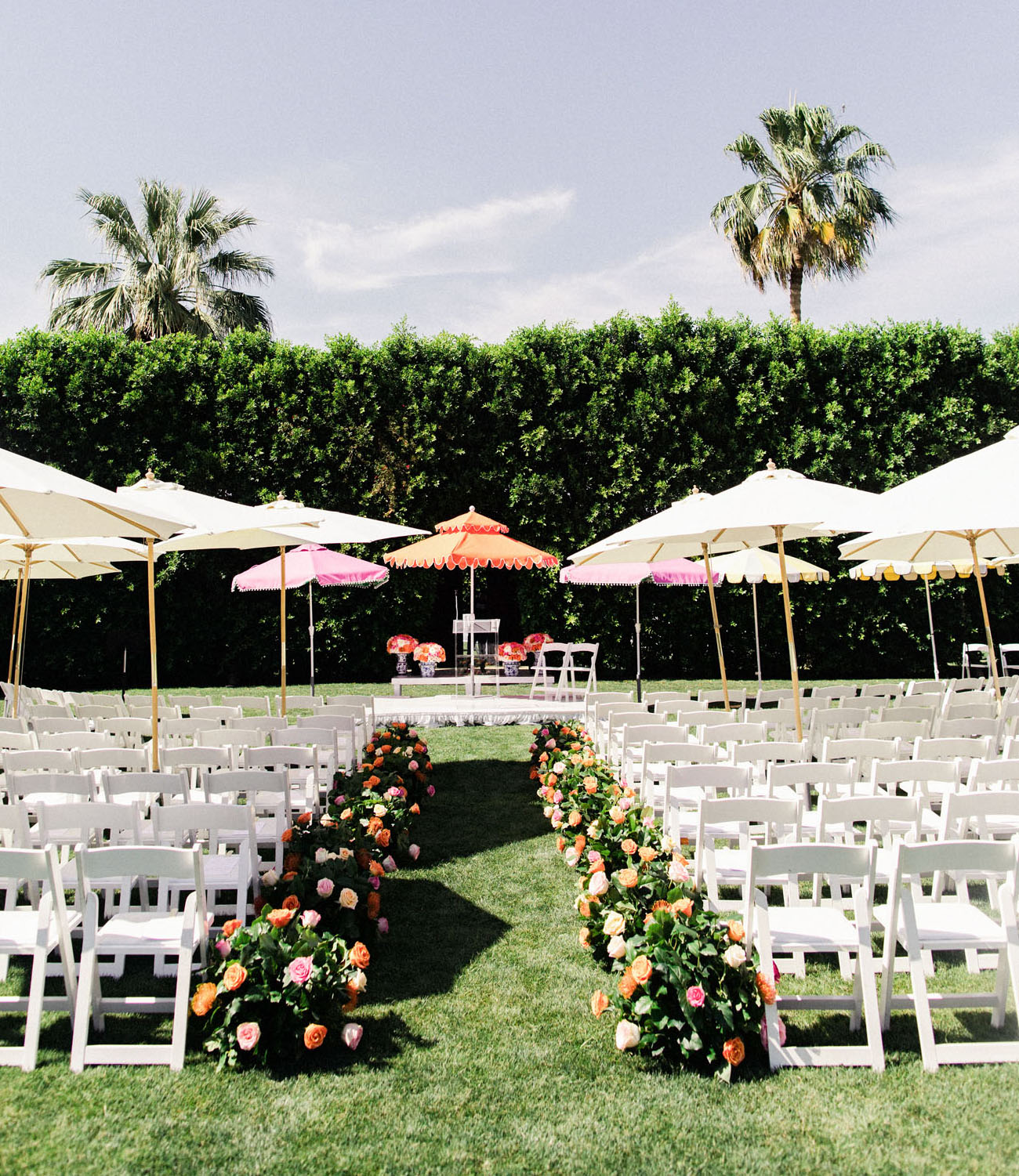 Glam Palm Springs Parker Wedding