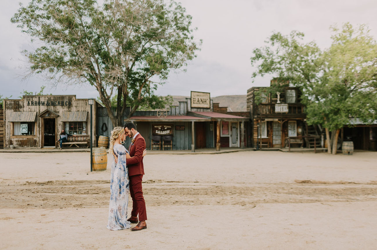 Saddle Up for this Southwestern + Boho-Chic Pioneertown Wedding