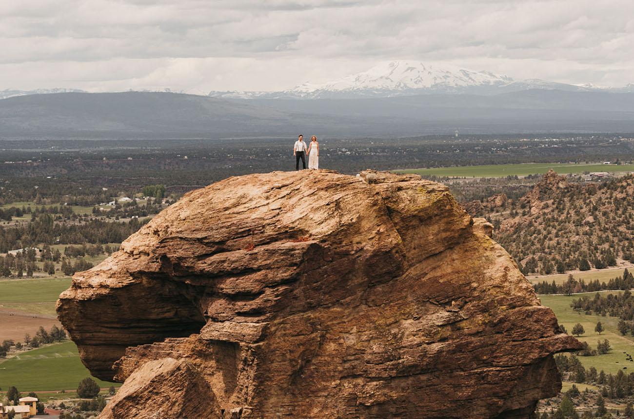 Rock Climbing Elopement