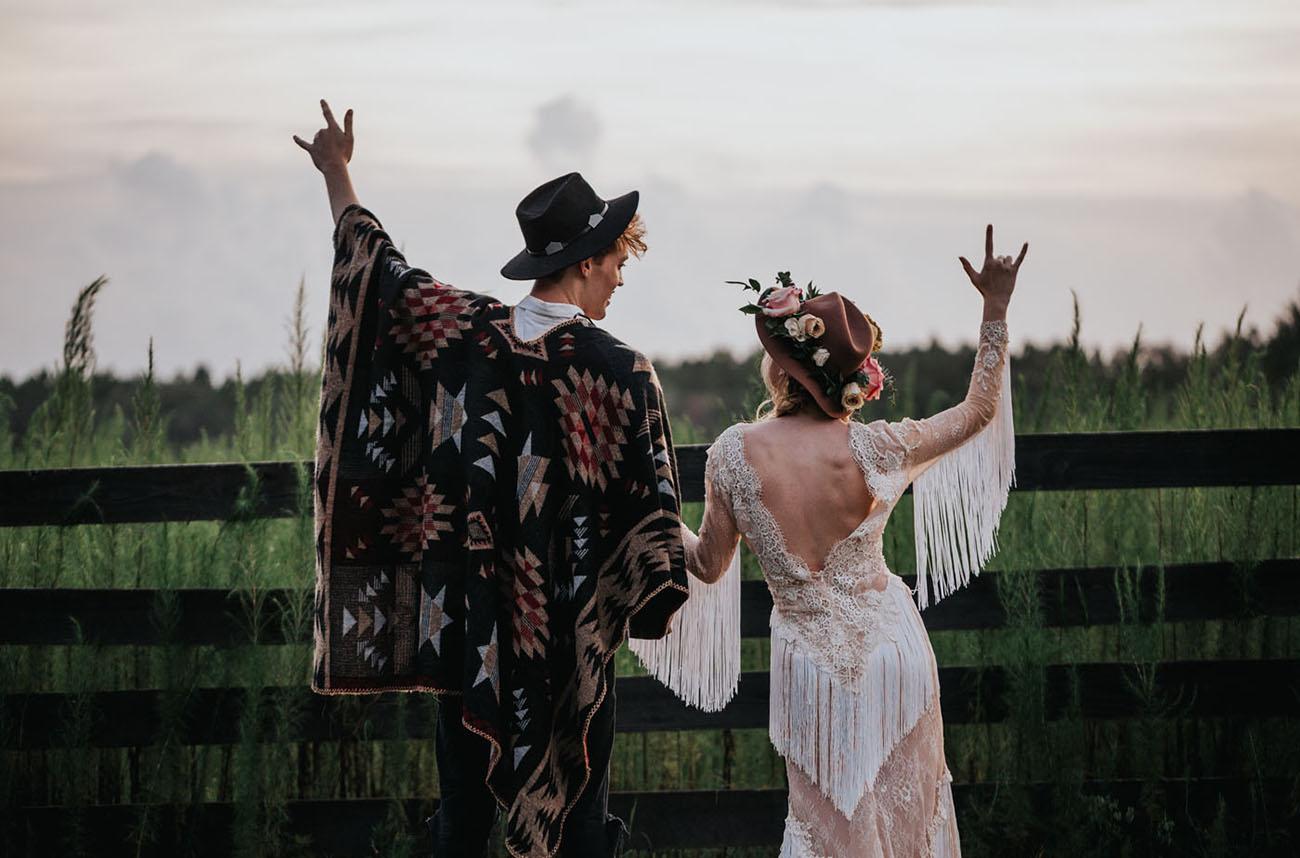 Boho Country Wedding Inspiration