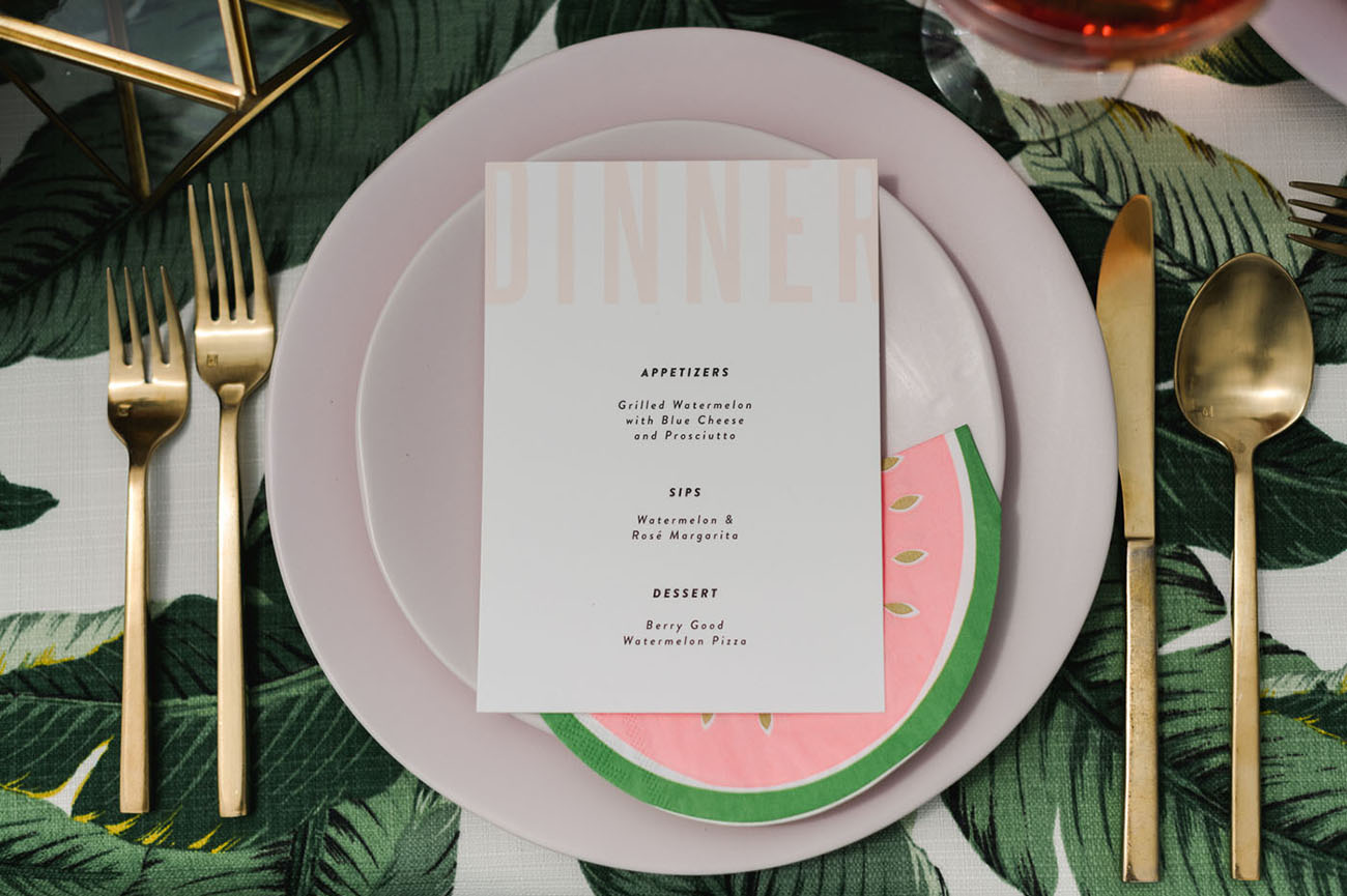 Watermelon Wedding Ideas