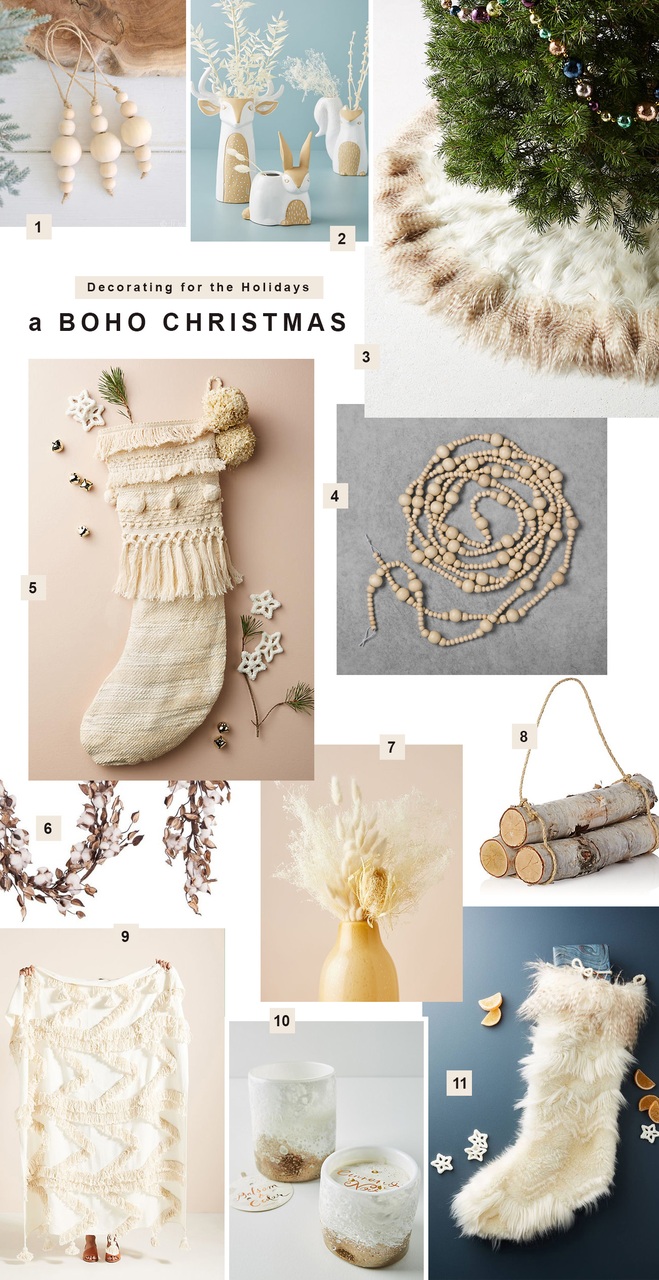 Get the Look for a Boho Christmas