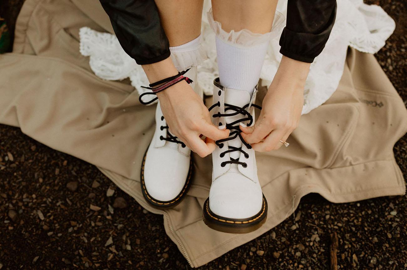 hiking bridal boots