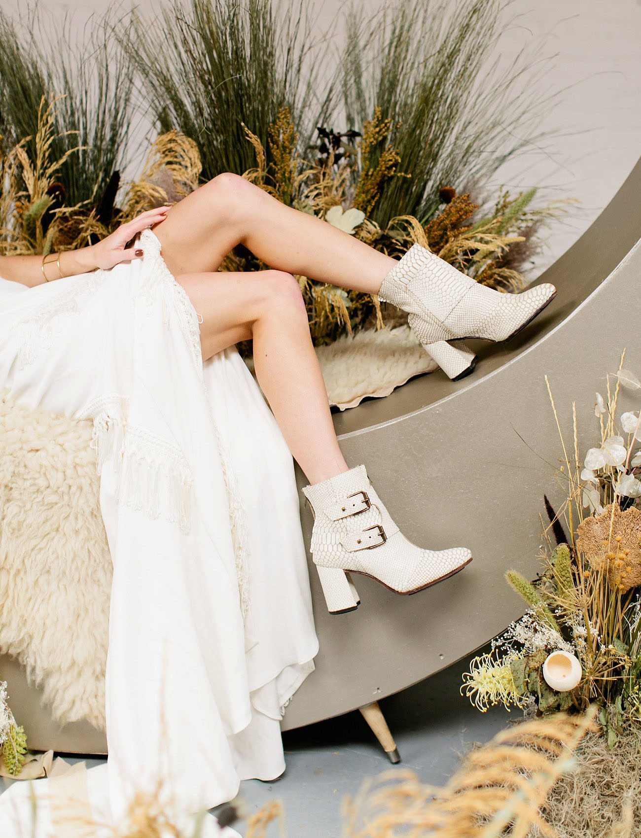 The Coolest Bridal Boots For Your Wedding Day Or Elopement Green