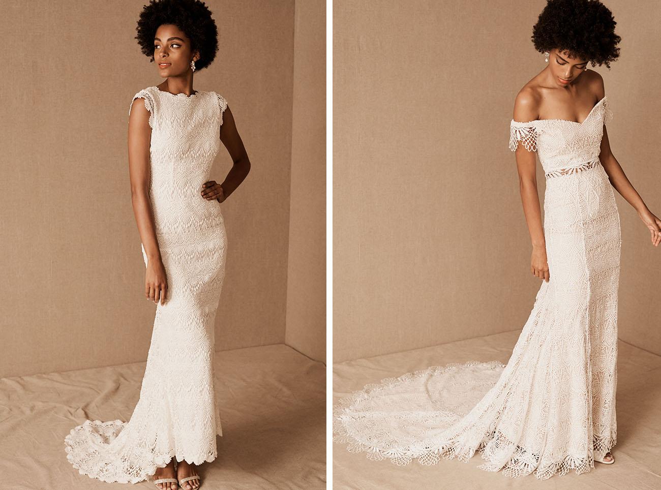 BHLDN Beaded Wedding Dresses