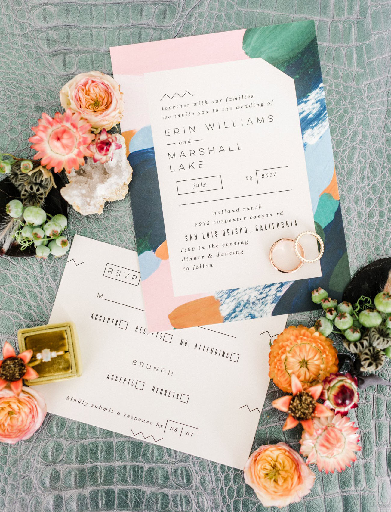 painterly invited by Minted