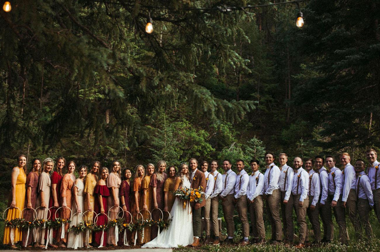 Wildflower Colorado Wedding
