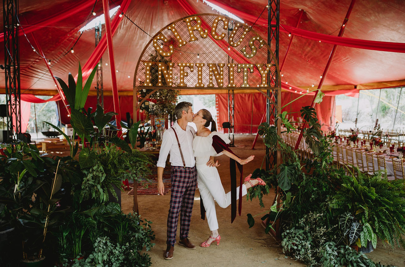 Come One, Come All for This Glittering Circus Wedding in Spain!