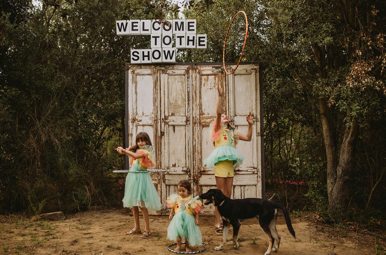 Circus Wedding in Spain