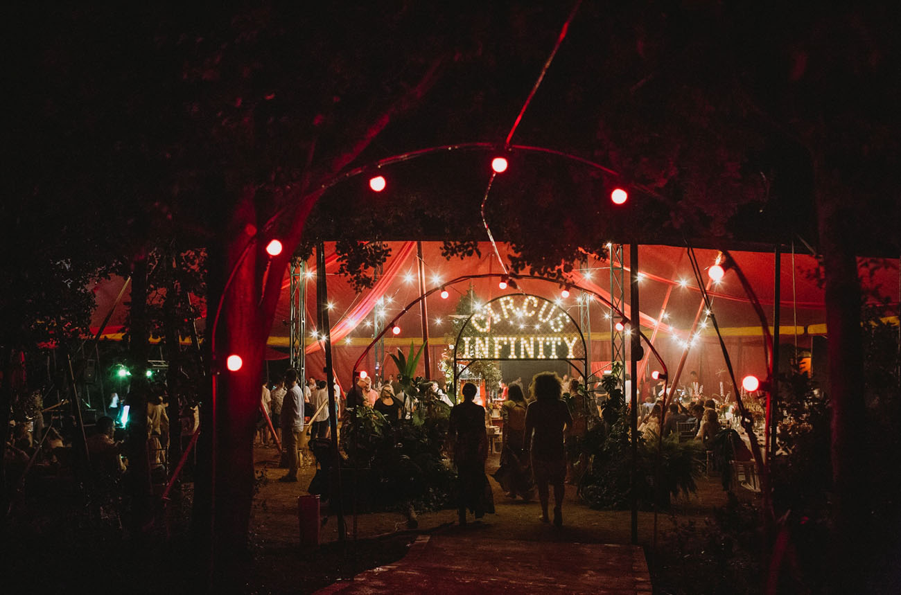 Circus Wedding in Spain