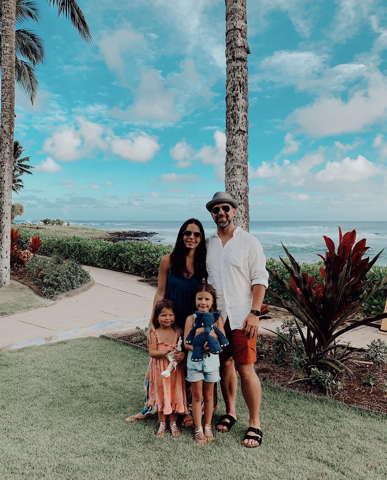family in kauai