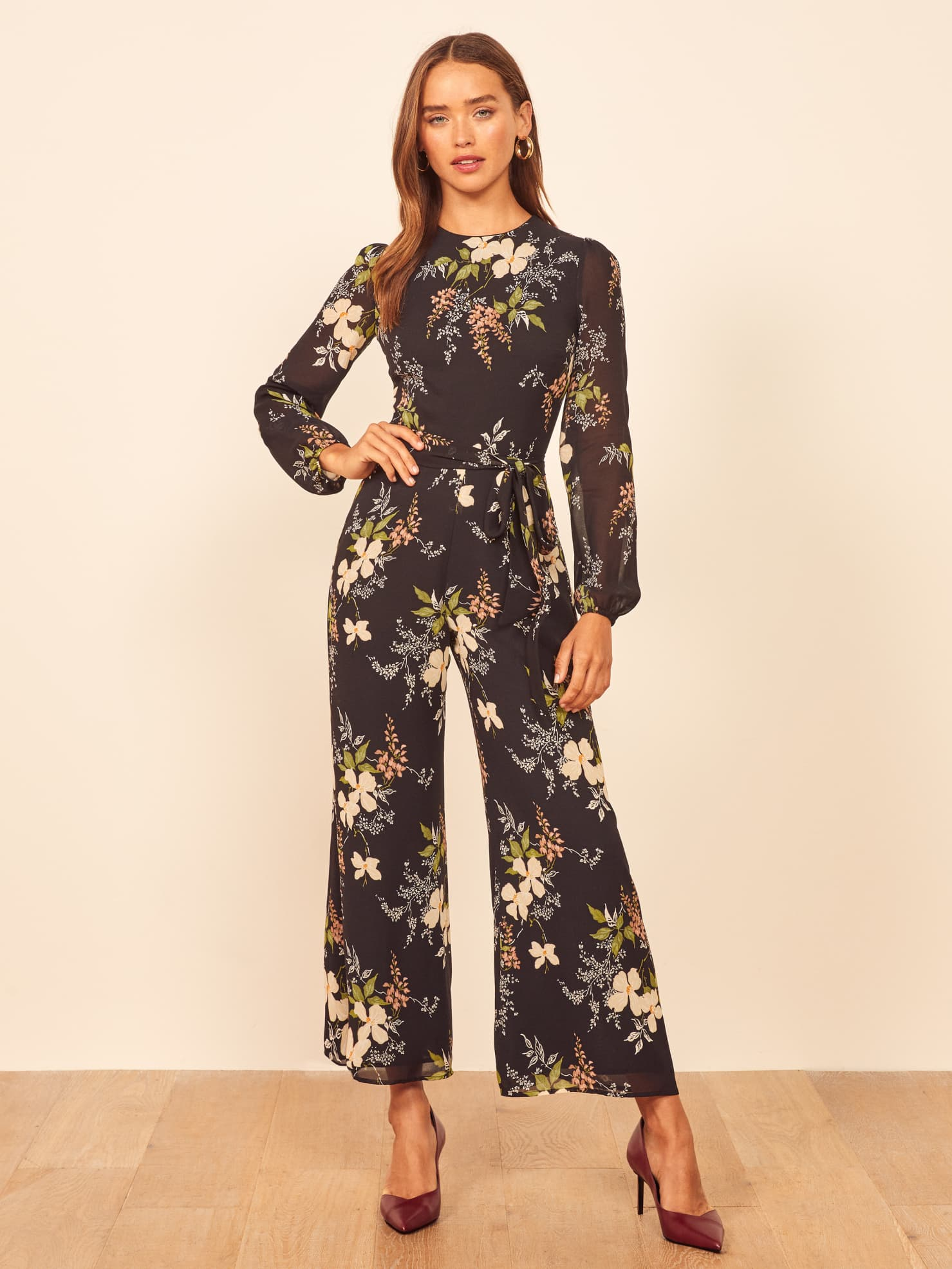 Reformation Franny Jumpsuit