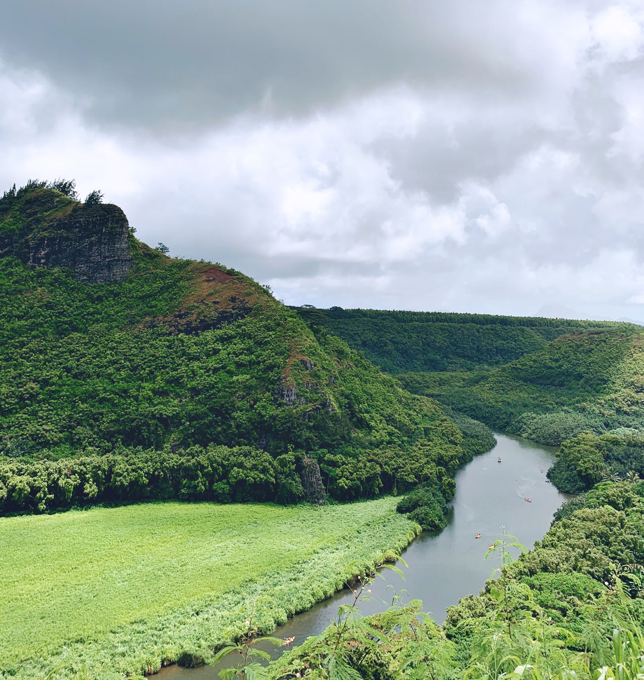 River in Kauai