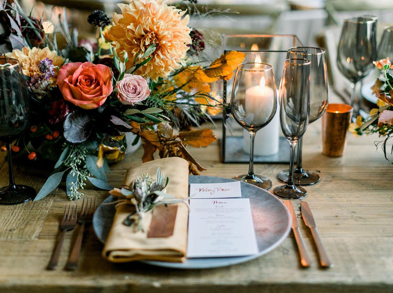 Fall Inspired California Wedding