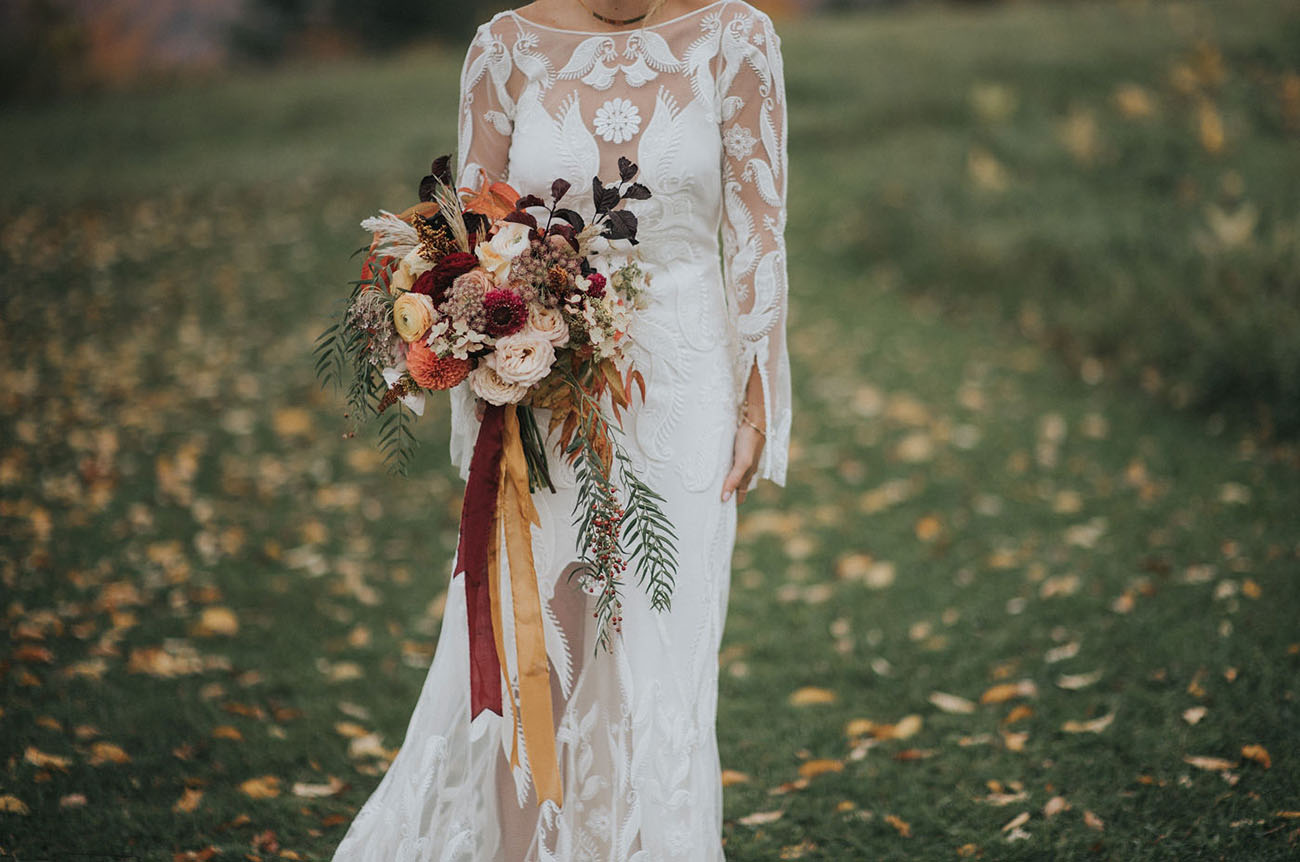 Rustic New Hampshire Mountain Wedding