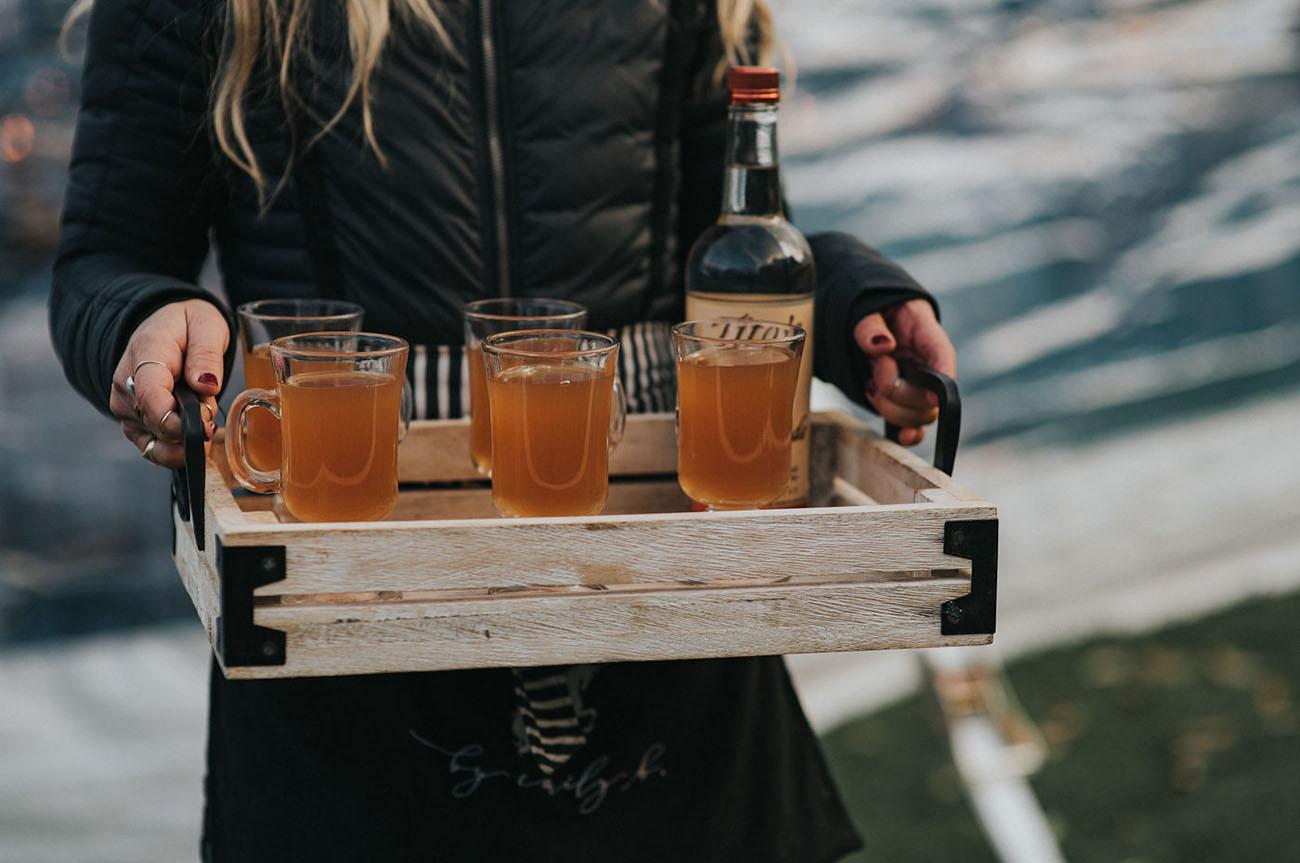 Fall cider cocktails