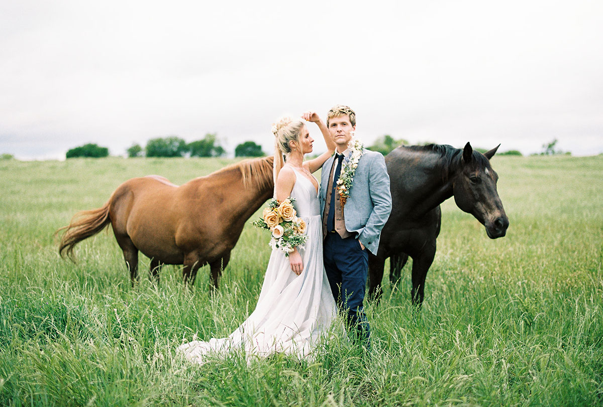 Texas Forever: Elegant Country Wedding Inspiration in Whitesboro