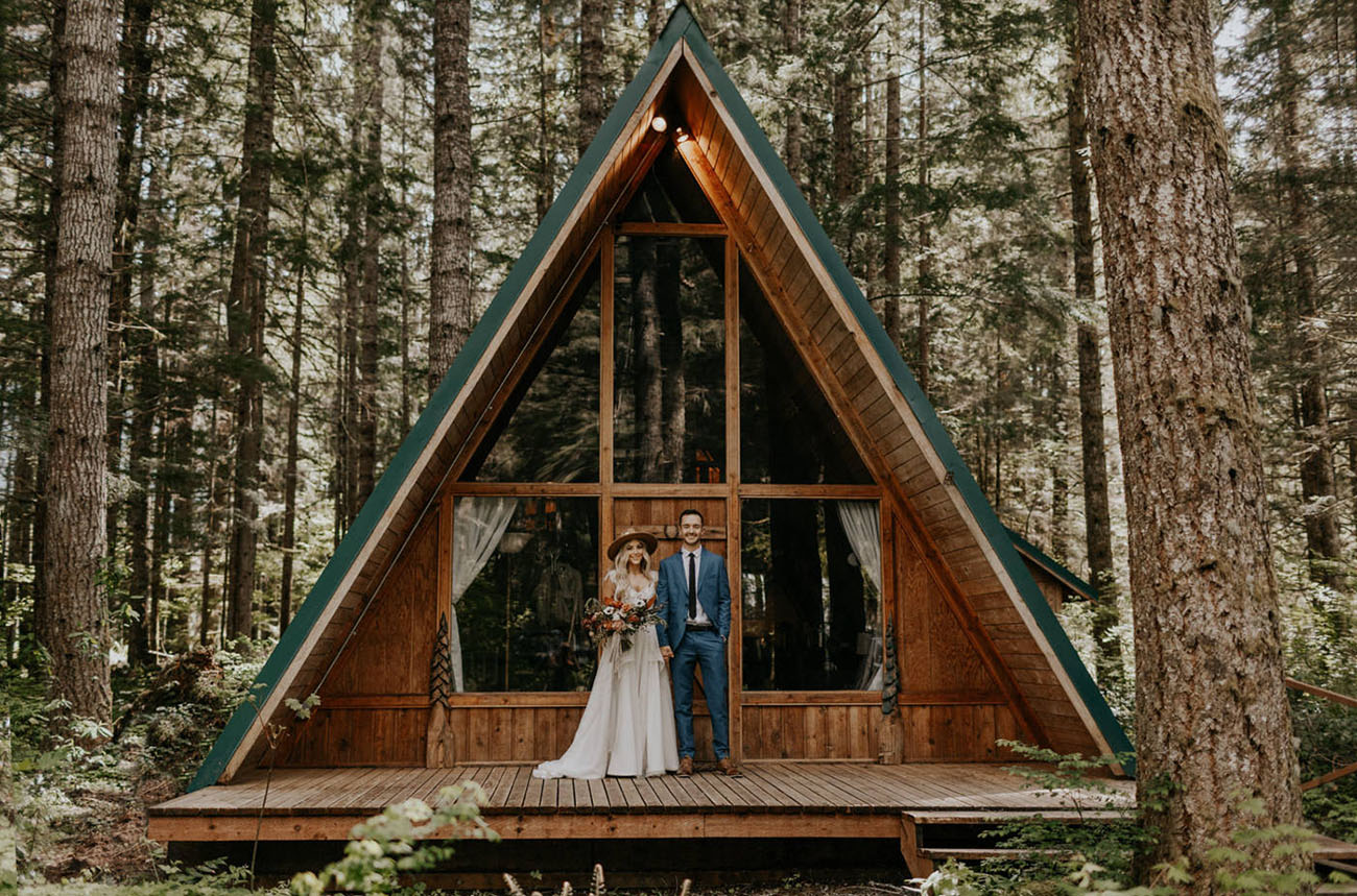 A Woodsy Forest Elopement in Mt. Rainier National Park