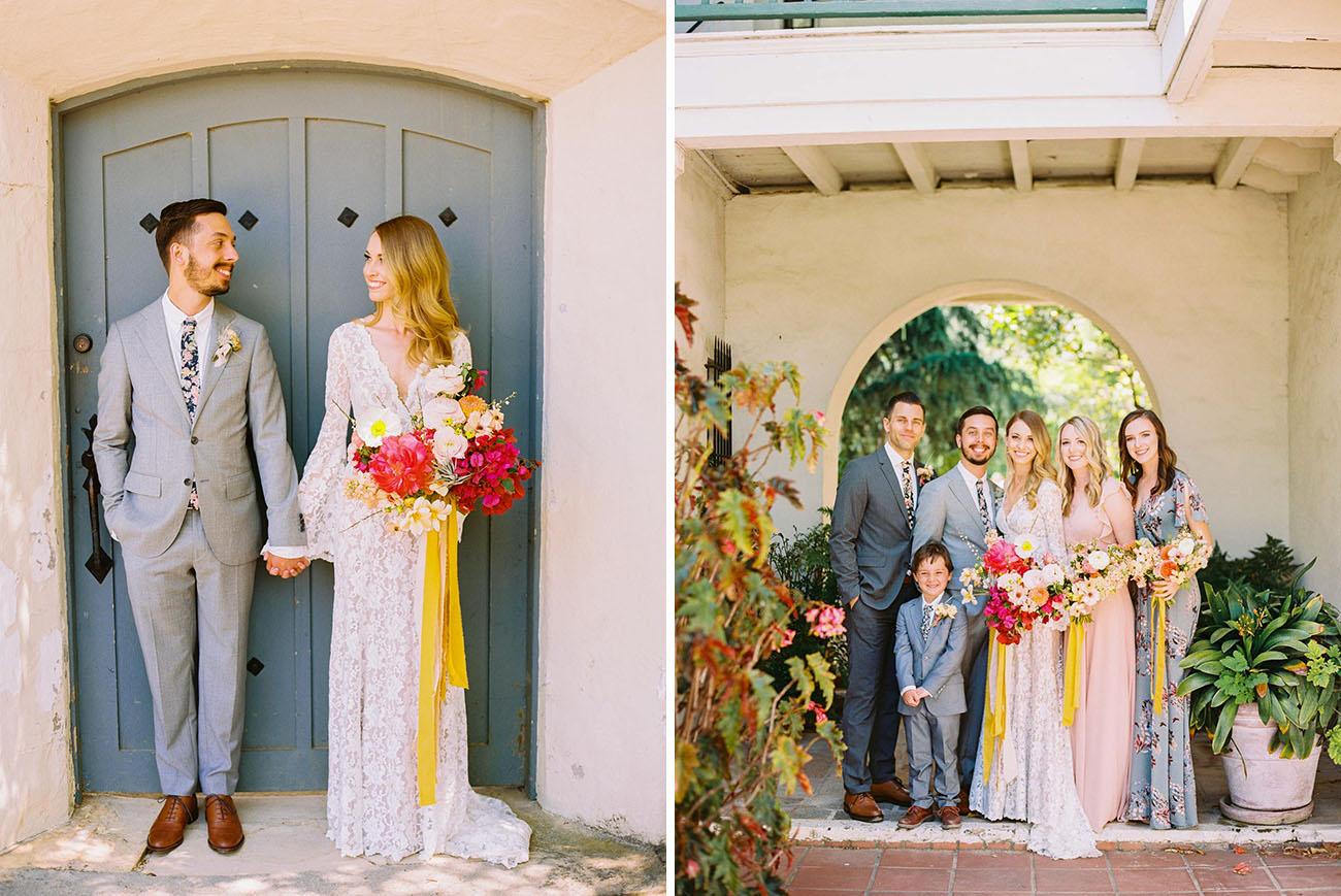 Monterey Desert Inspired Wedding