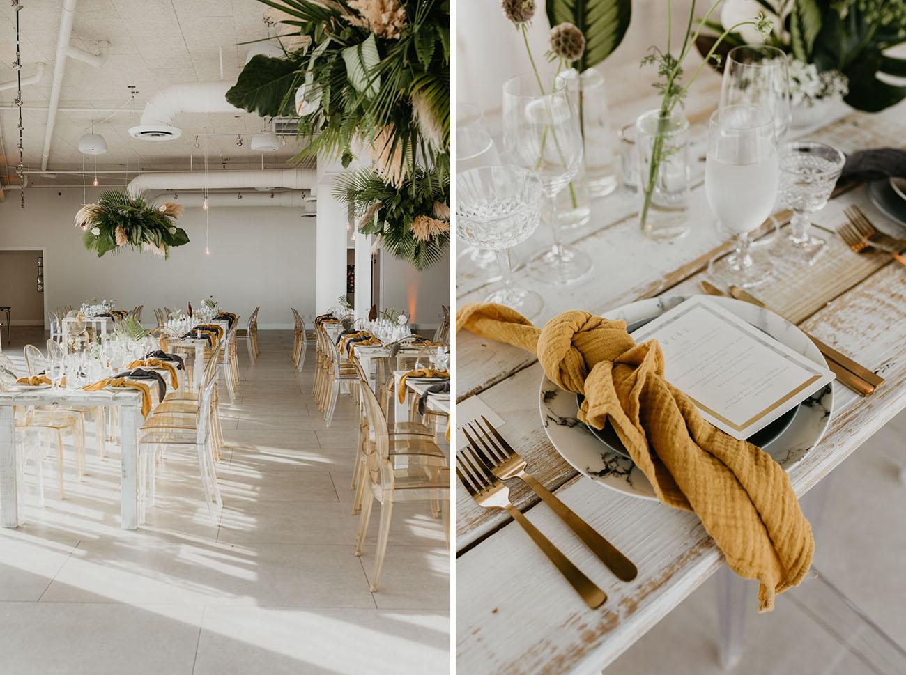 Tropical Florida Rooftop Wedding