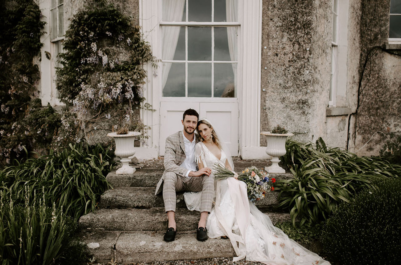 A Colorful + Intimate Wildflower-Inspired Wedding in an Irish Garden