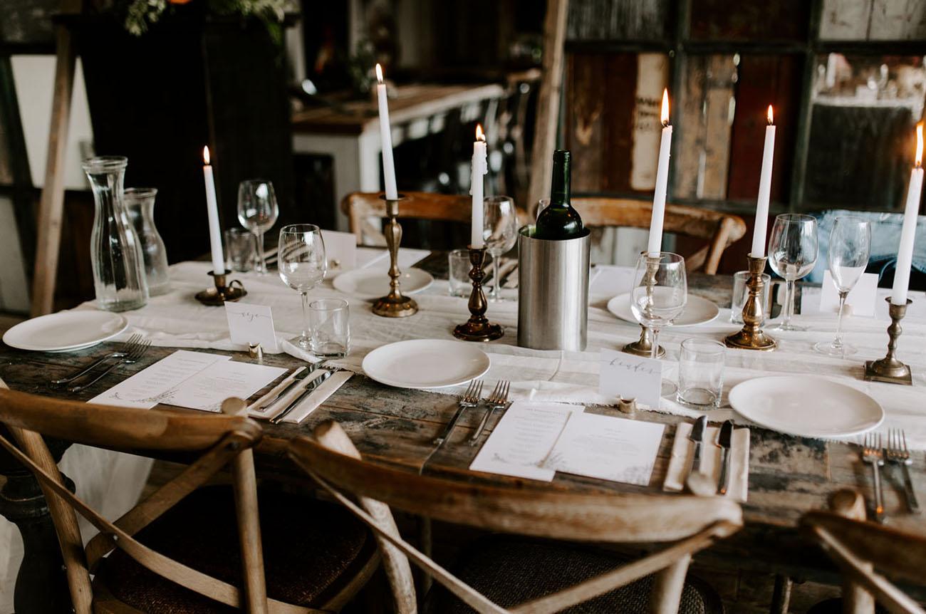 Intimate Ireland Garden Wedding