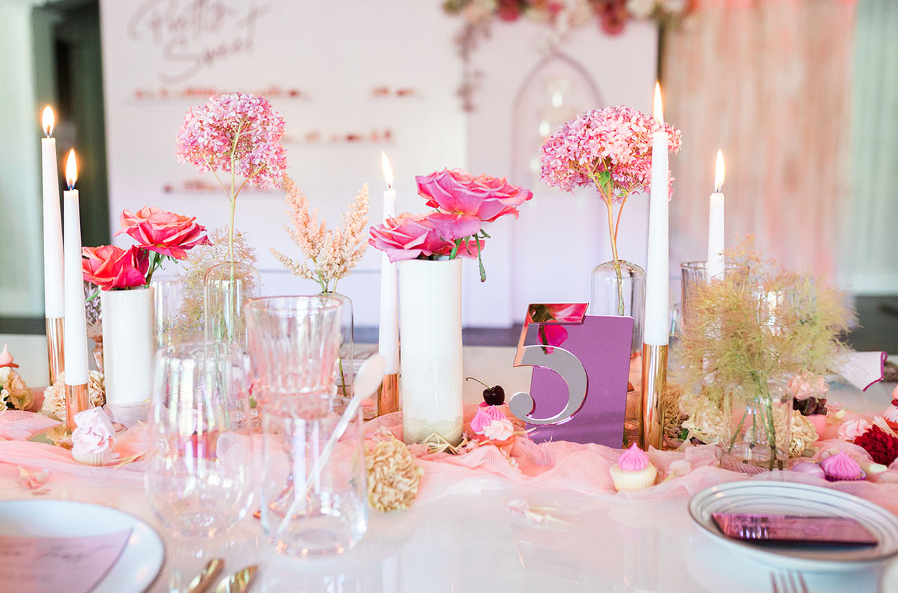 Modern Pink Wedding Inspiration