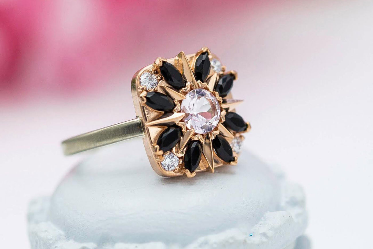 CustomMade engagement ring