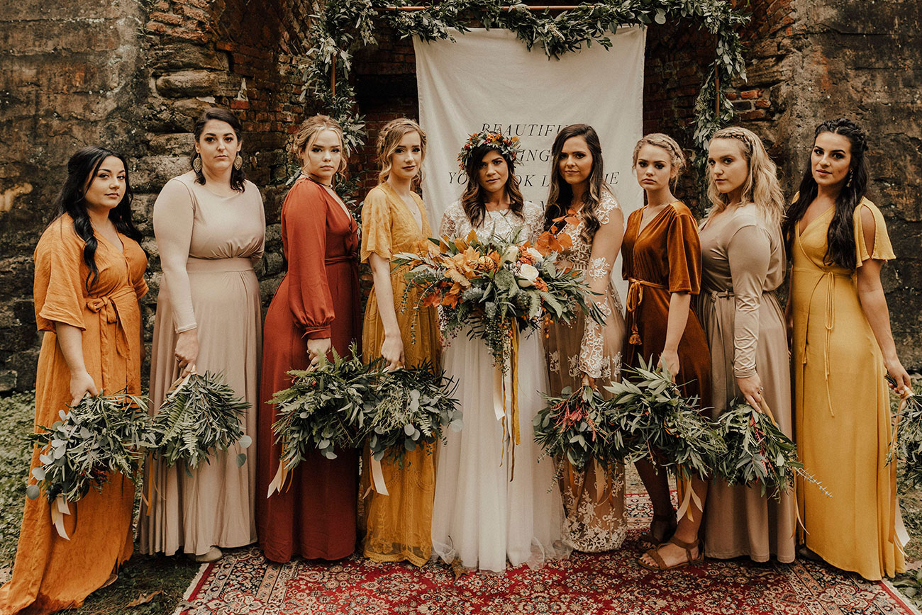 These are the Fall Wedding Colors We're LOVING Right Now