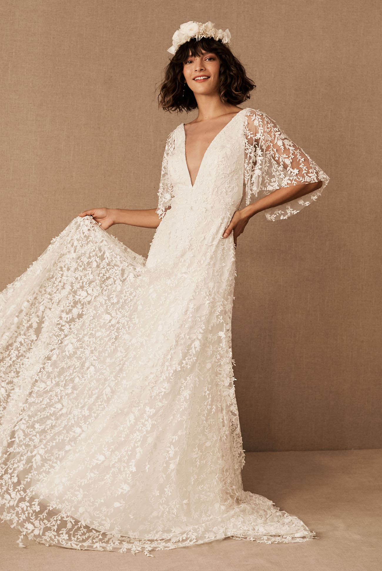 Exclusive Preview Alert: BHLDN?s Spring 2020 Gowns are Full of Whimsy and Delicate Details