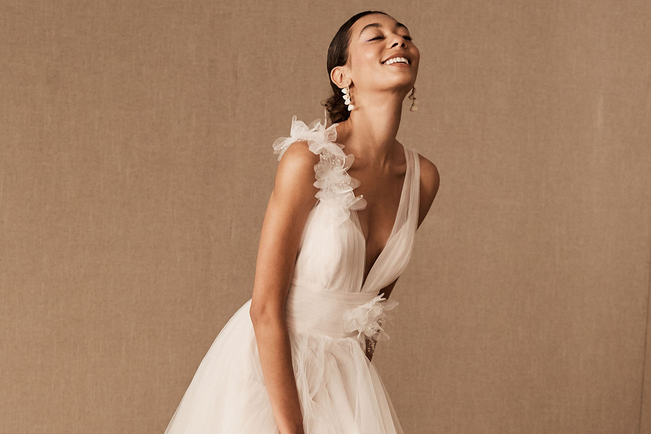 Exclusive Preview Alert: BHLDN's Spring 2020 Gowns are Full of Whimsy and Delicate Details