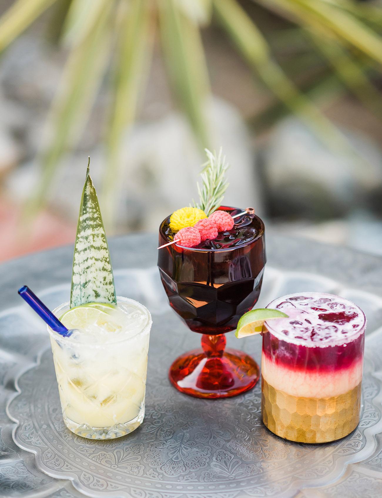 Dia de los muertos cocktails
