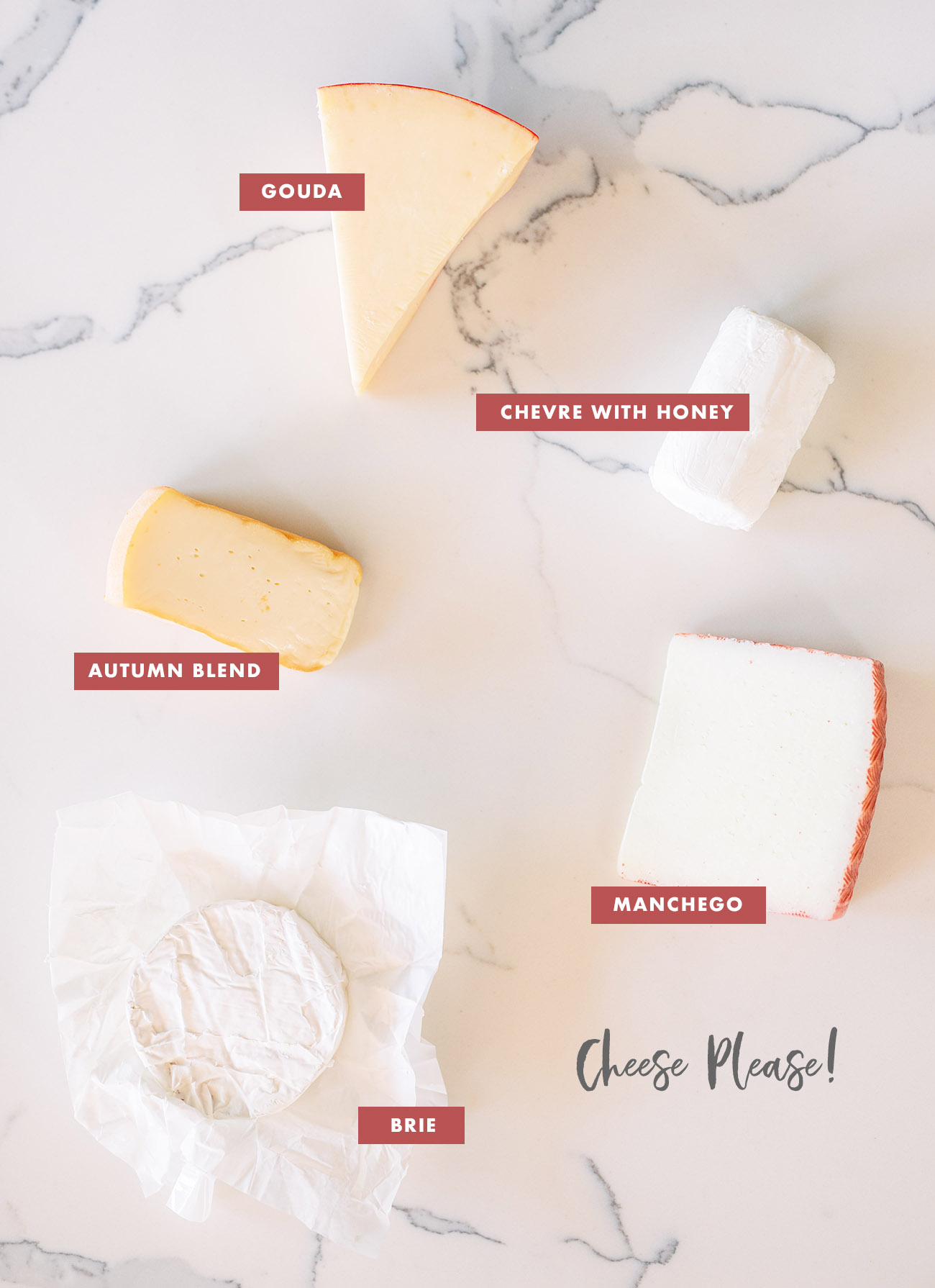 what cheeses to use on a cheeseboard
