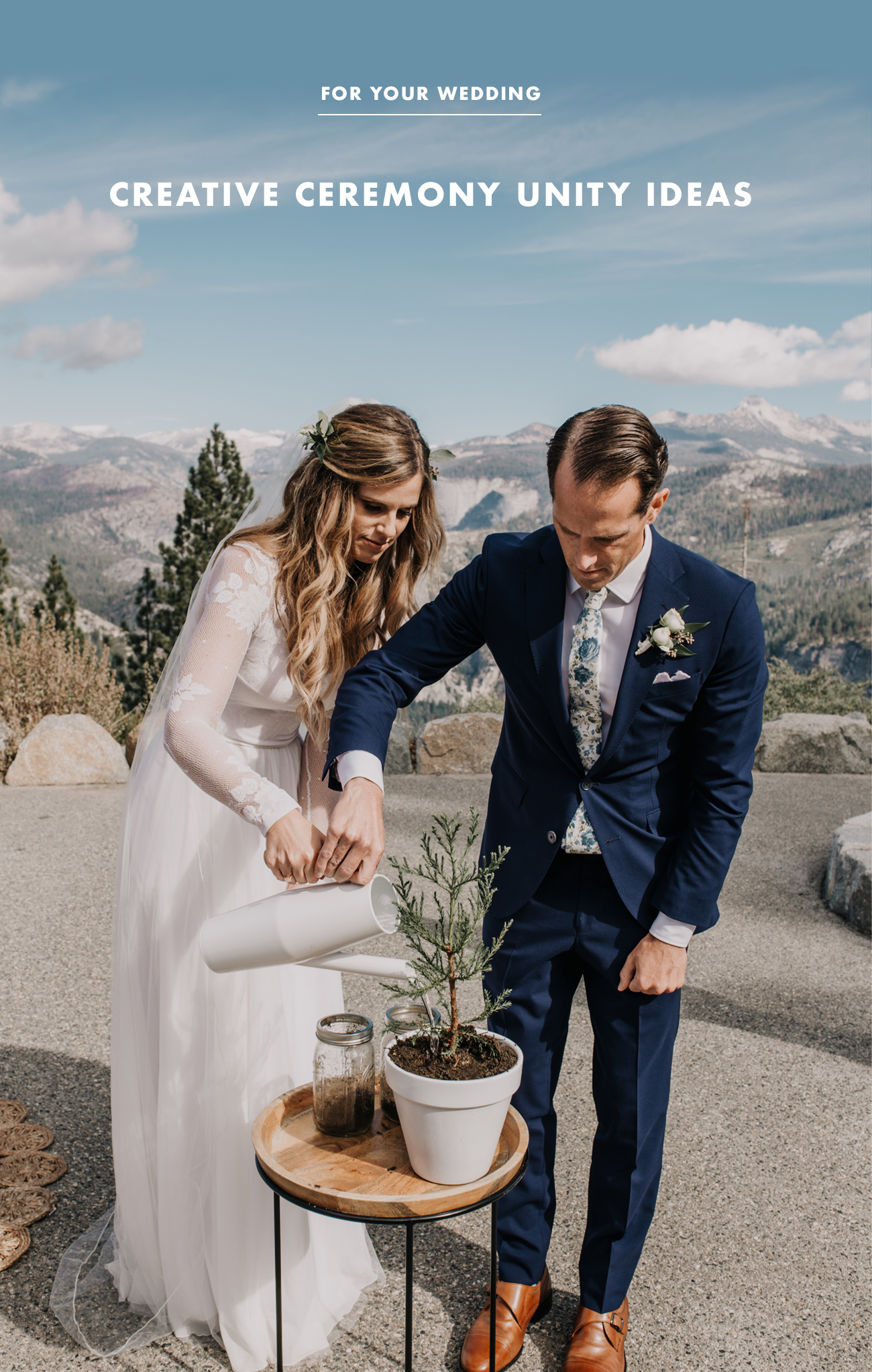 Creative + Meaningful Ceremony Unity Ideas