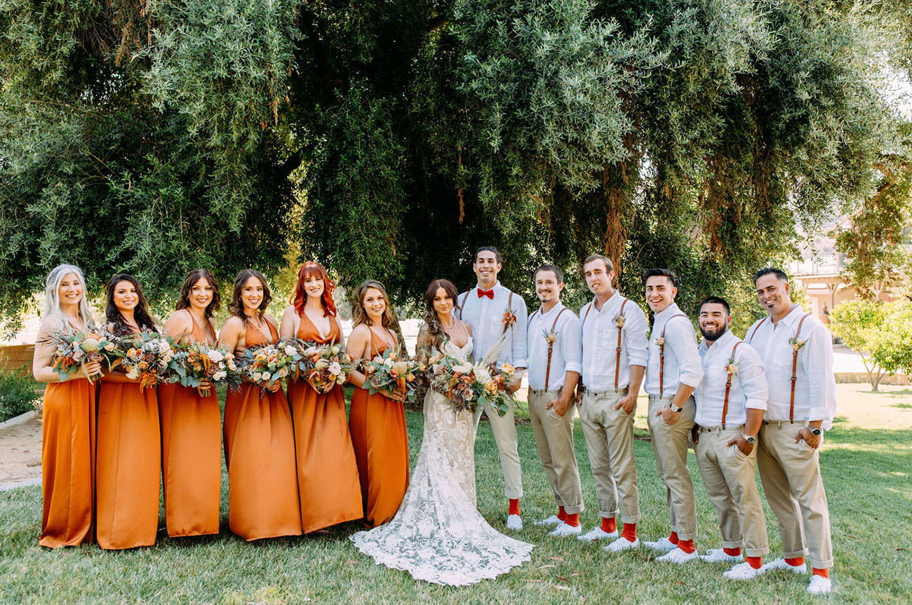 California Fall Wedding