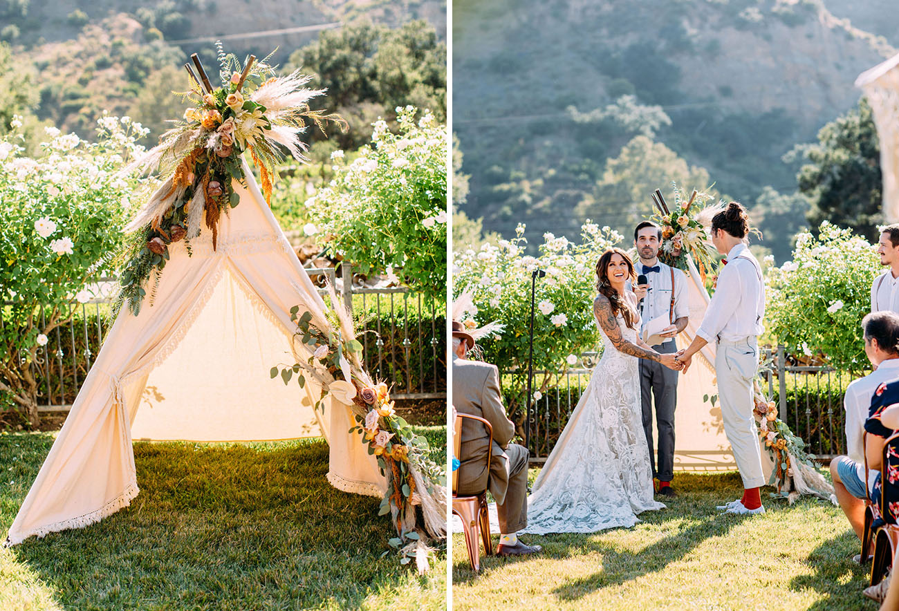 California Fall Wedding