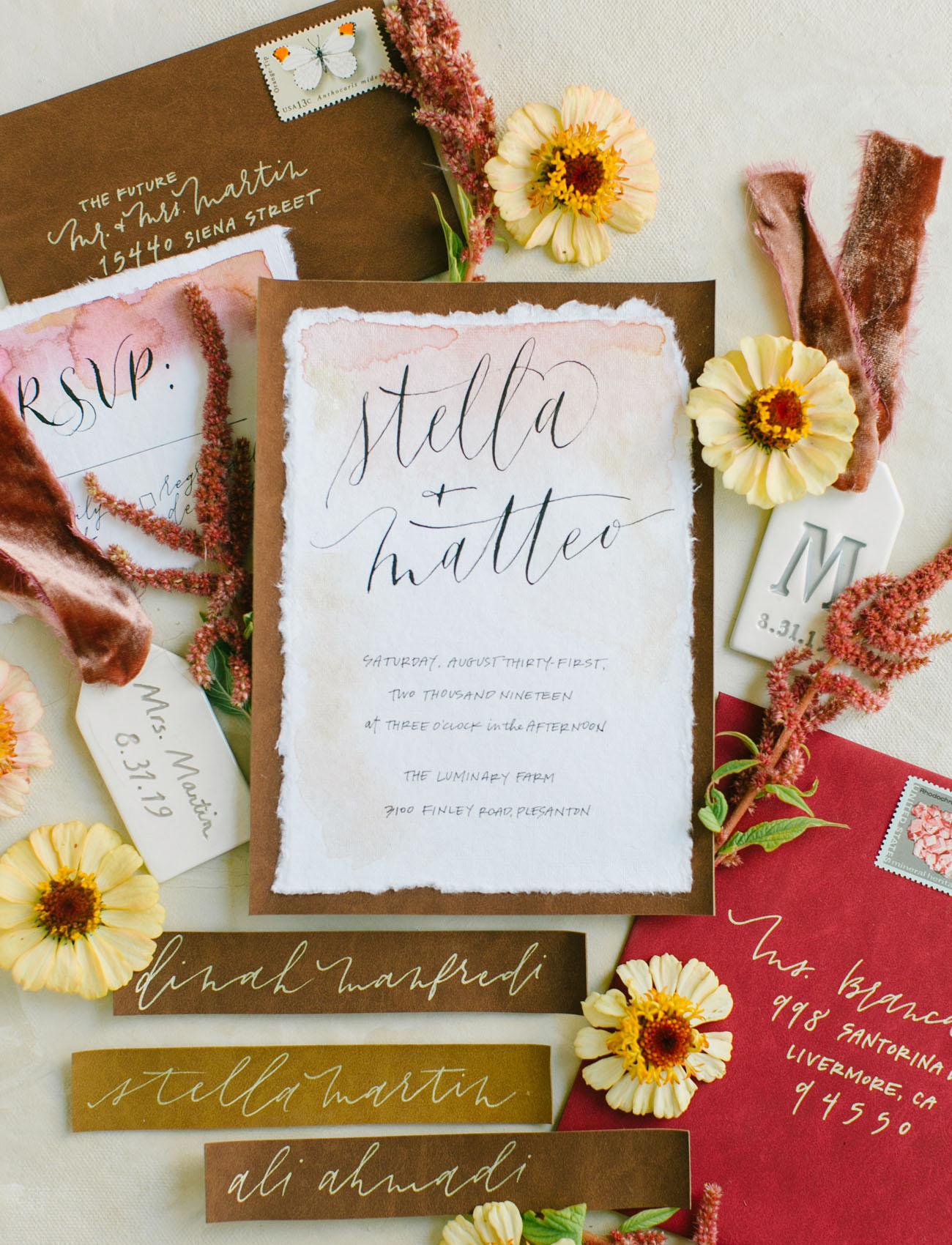 fall invitation suite