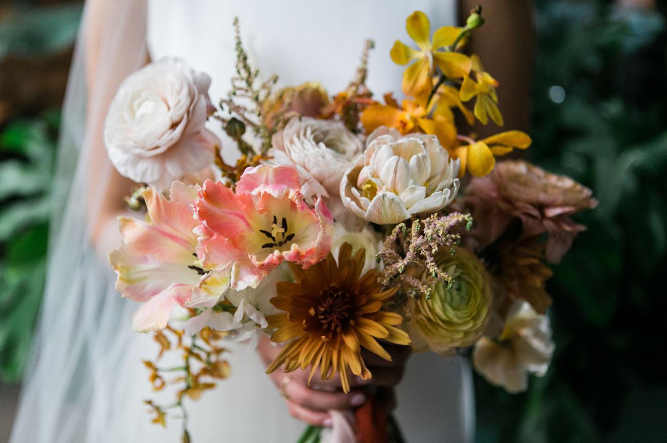 Floral Ikebana Bouquet