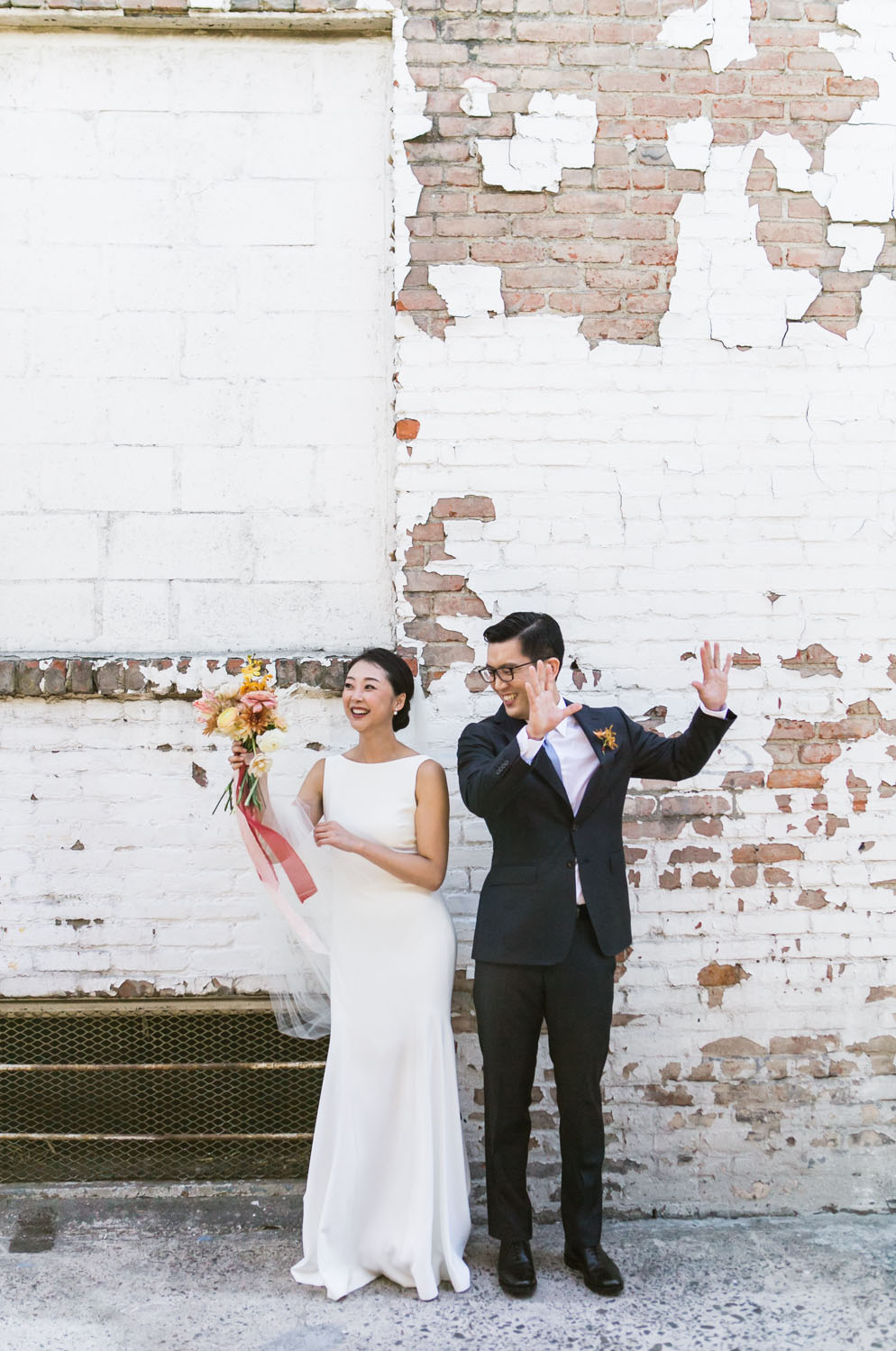Floral Ikebana Wedding at Valentine DTLA