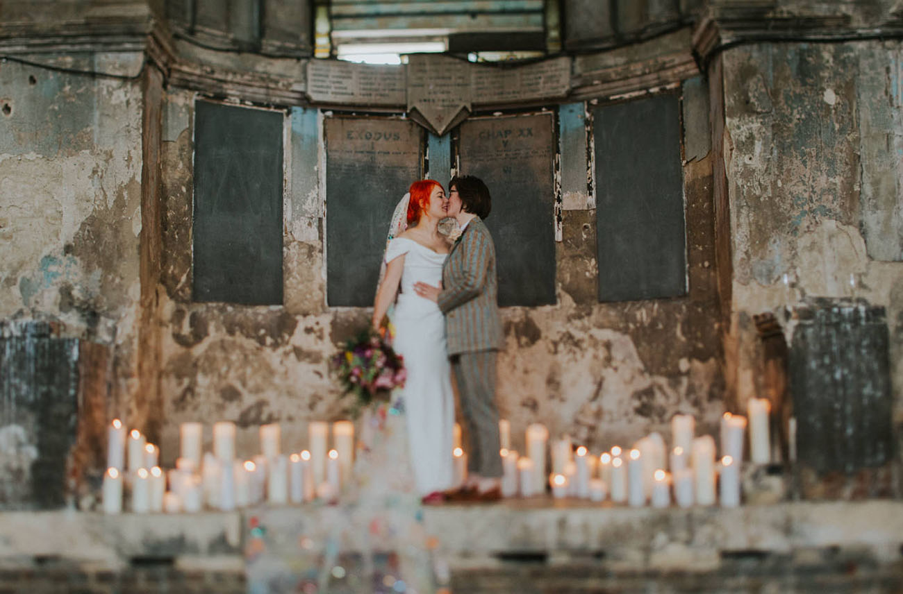 Unique London Wedding