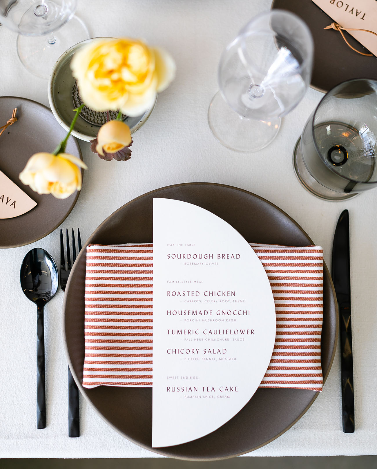 Modern Minimal Wedding Inspiration