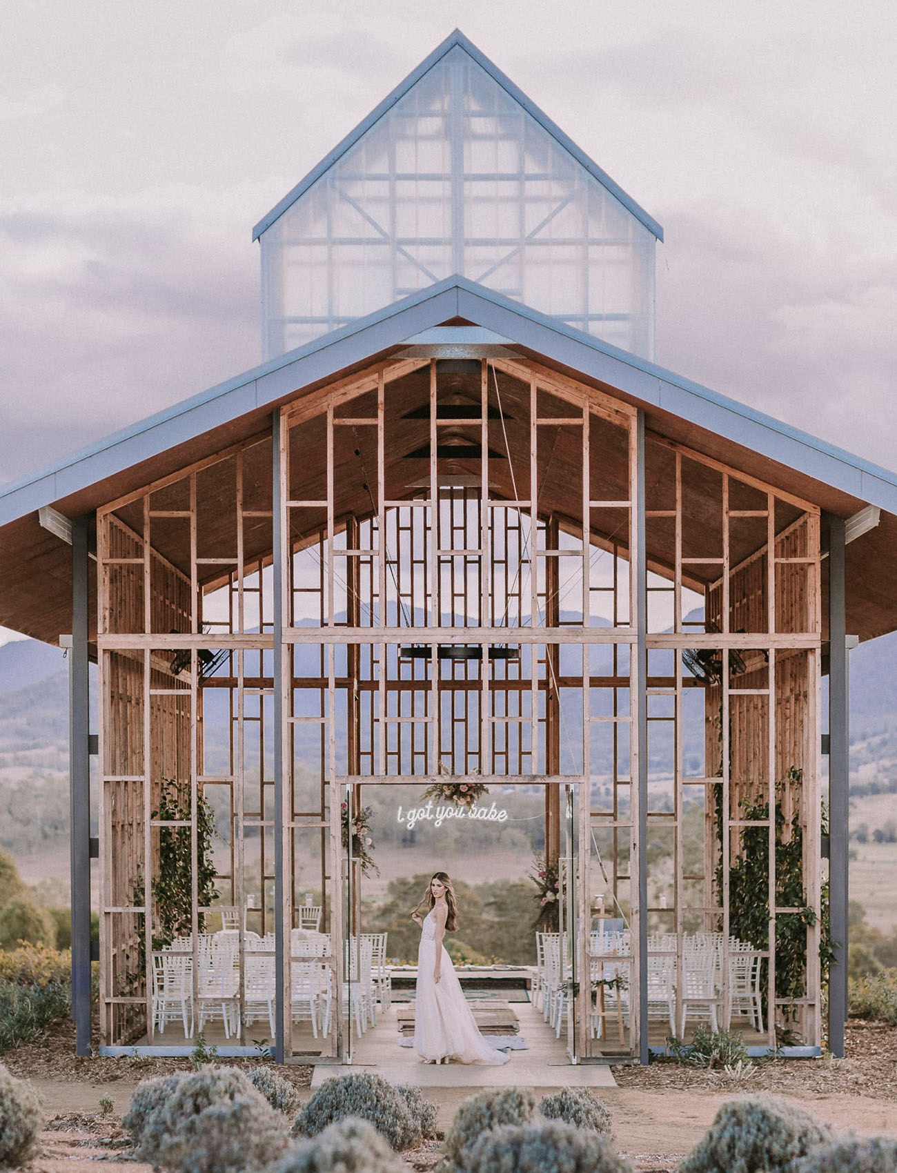 Dreamy Open Chapel Inspiration
