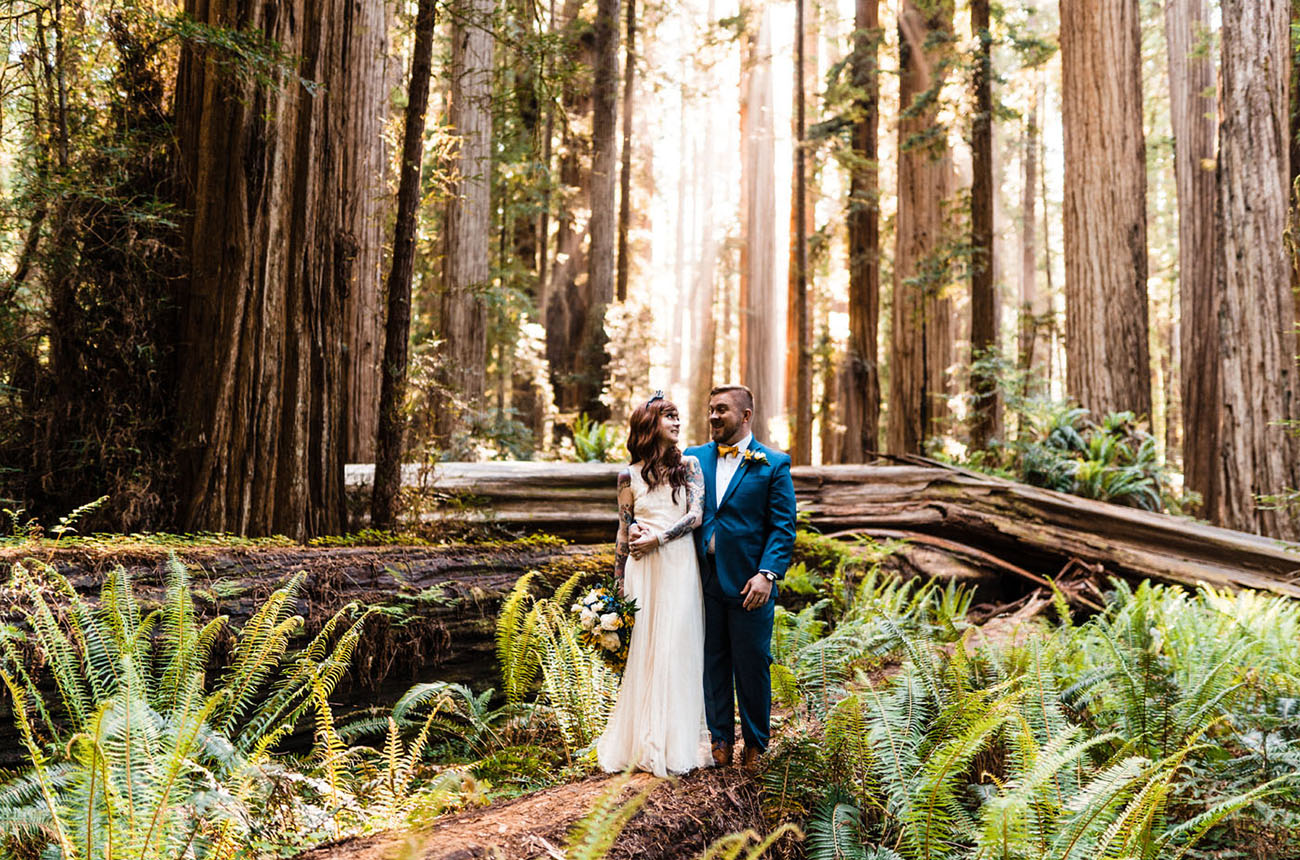 Adventure in the Redwoods: An Intimate Elopement Featuring the Most Beautiful Views of Nature