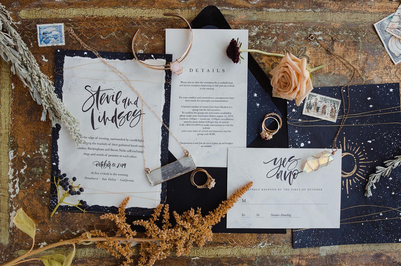 celestial wedding suite