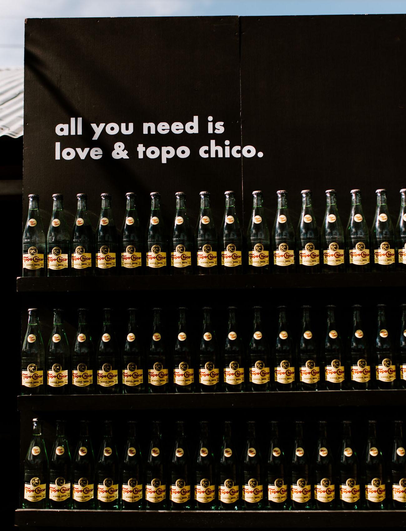 Topo Chico Escort Wall