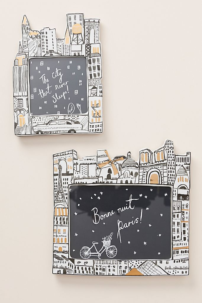 Anthropologie: Cityscape Frame