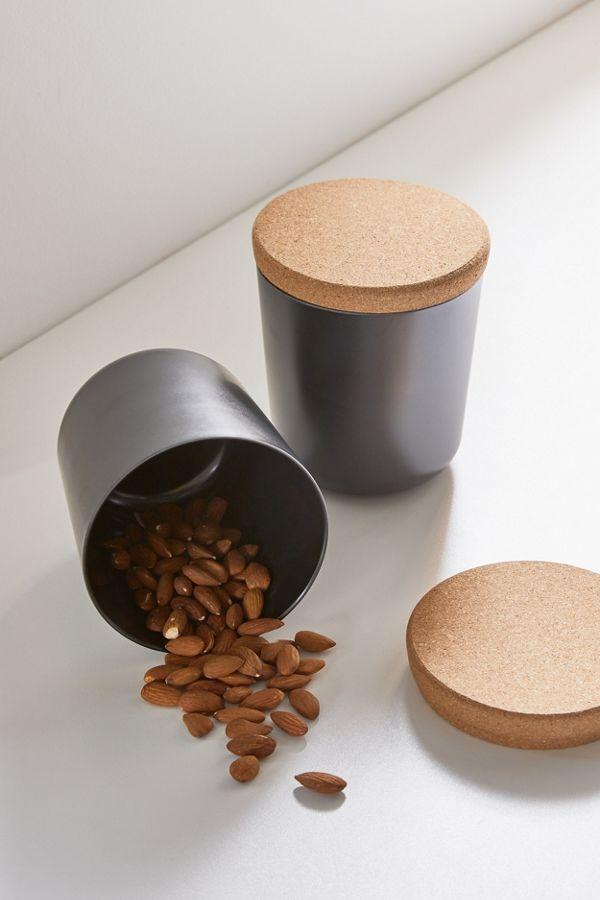 black EKOBO Storage Jar