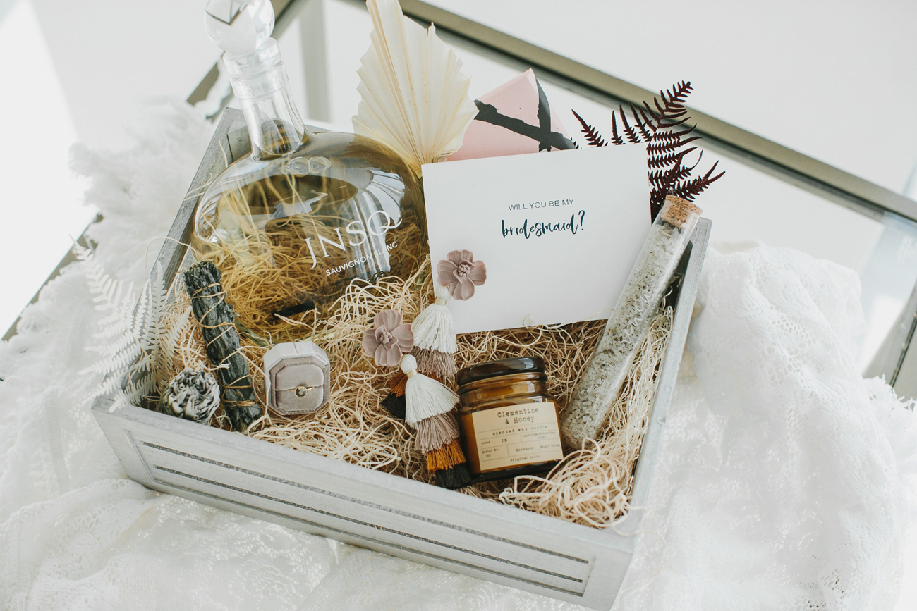JNSQ Wines Will You Be My Bridesmaid Gift Box