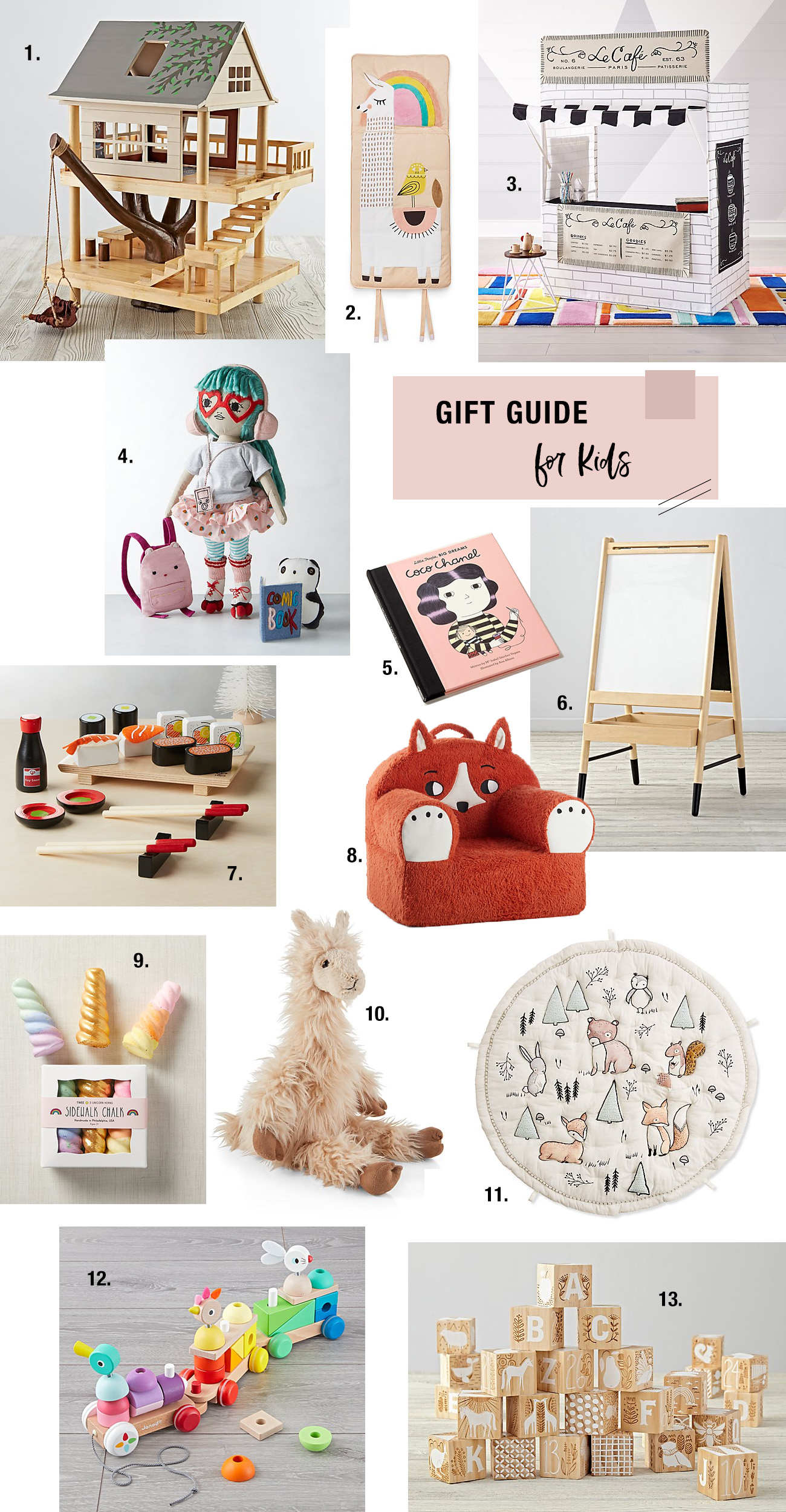 Gift Guide for Kids with our Fave Gifts from Crate and Kids